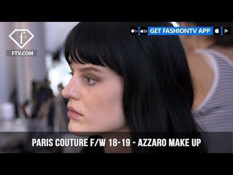 Azzaro Make Up Paris Couture Fashion Week Fall/Winter 2018-19 | FashionTV | FTV