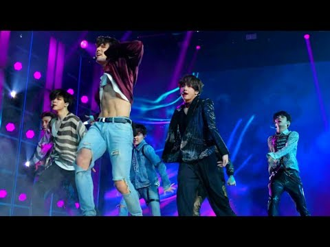 [HD FRONT ROW FANCAM] BTS (방탄소년단) FAKE LOVE BBMAS | 빌보드 앞줄 캠