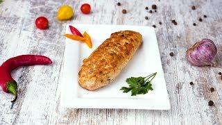 Как приготовить куриные колбаски - Рецепты от Со Вкусом