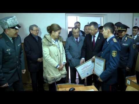Дарига Назарбаева восхищена будущими и действующими военными юга
