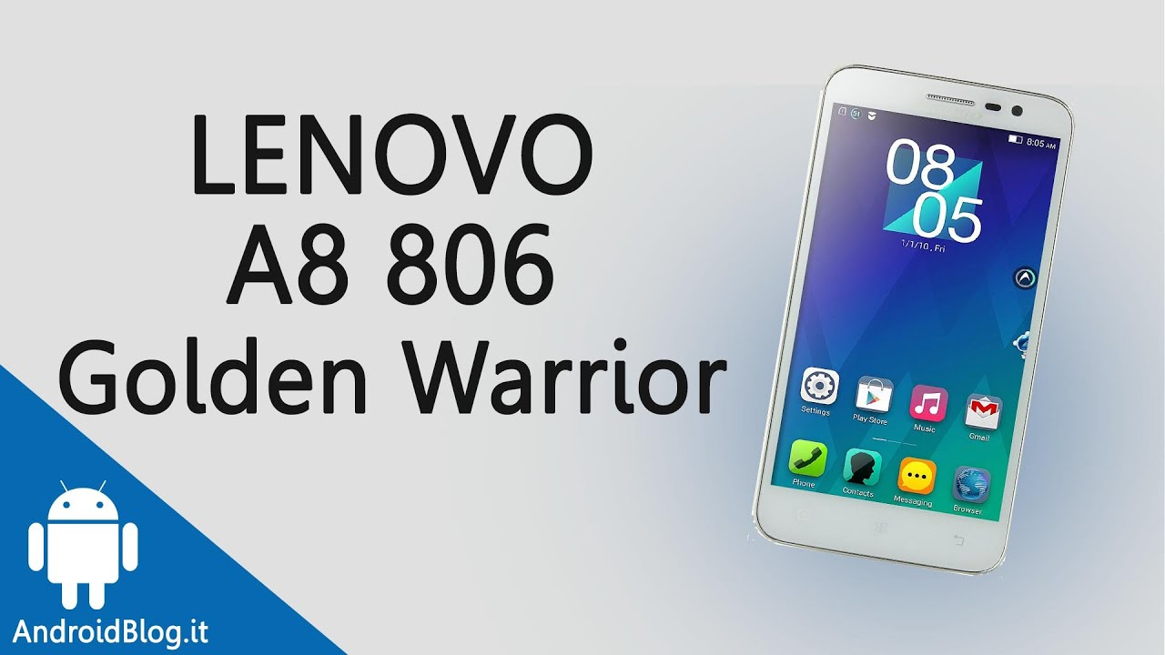 Lenovo Golden Warrior A8 (A806) 4G OctaCore Smartphone Hands On .