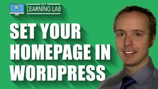 Set As Homepage Any Page In WordPress | WP Learning Lab