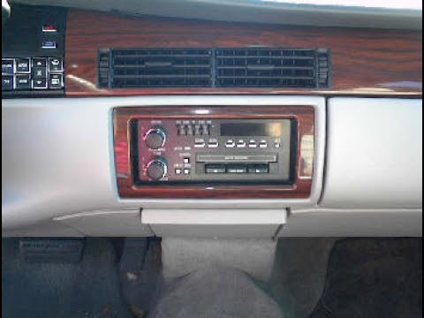 hqdefault cadillac sedan deville stereo removal youtube