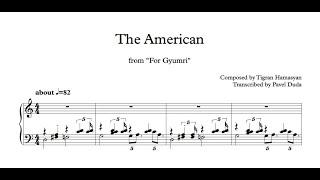 Tigran Hamasyan - The American (Transcription)