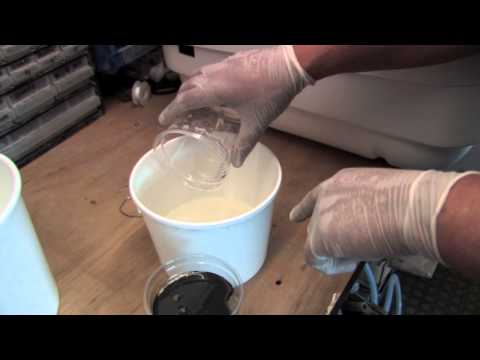 Mixing Polyurethane Foam Liquid