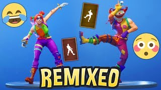 Fortnite Dances BUT They Are Remixed..! *BETTER* thumbnail