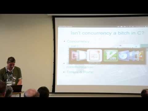 Concurrency in the real world with xCORE and XC, Alan Wood (OSHCamp at WB 2014)
