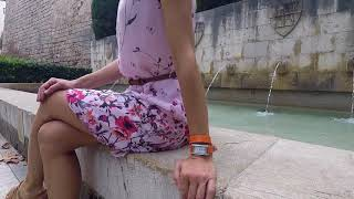 Montres femme double bracelet Louise Pearl