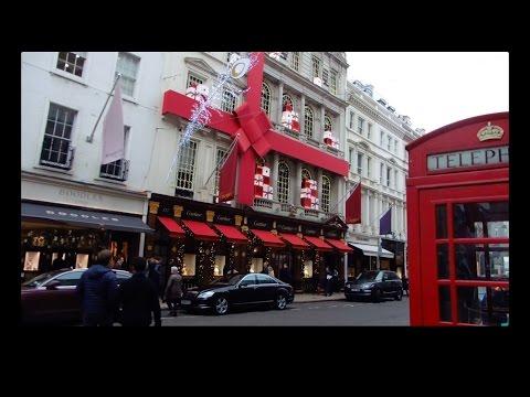 VLOG! Luxury Christmas Shopping on Bond Street!