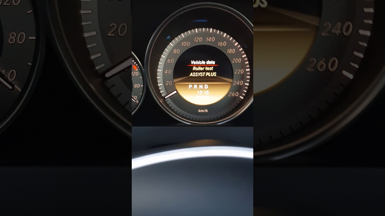 enabling dyno mode on newer mercedes-benz (w204etc)😎
