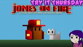 Try it Thursday   Jones on Fire