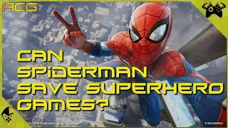 Can Spider-Man Save Superhero Games?