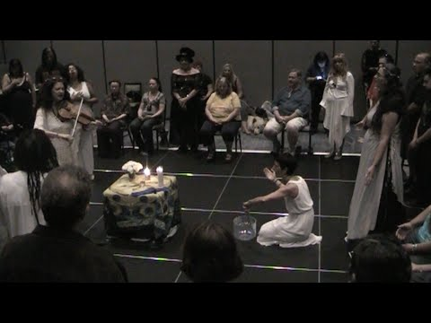 Pagan Ritual for Peace, Wisdom Council of the Starlit Well, Pagan Day Fest 9-11-2016
