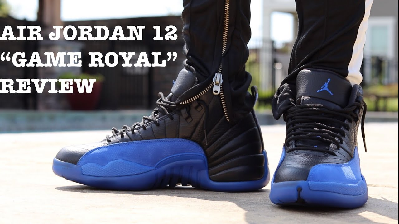jordan 12 royal blue
