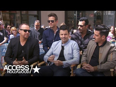 New Kids On The Block Talk 'Hanging Tough' For 30 Years | Access Hollywood