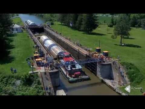 Genesee Beer Tanks - Erie Canal