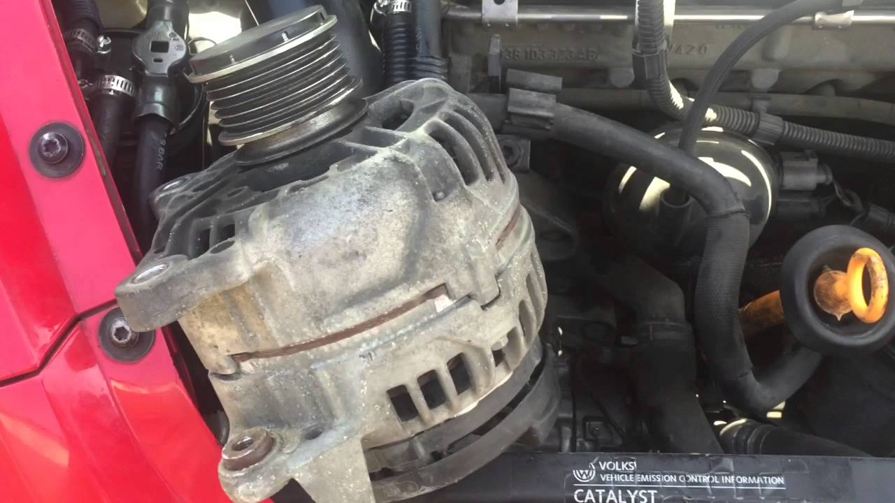 Tdi AC Compressor Replacement - YouTube