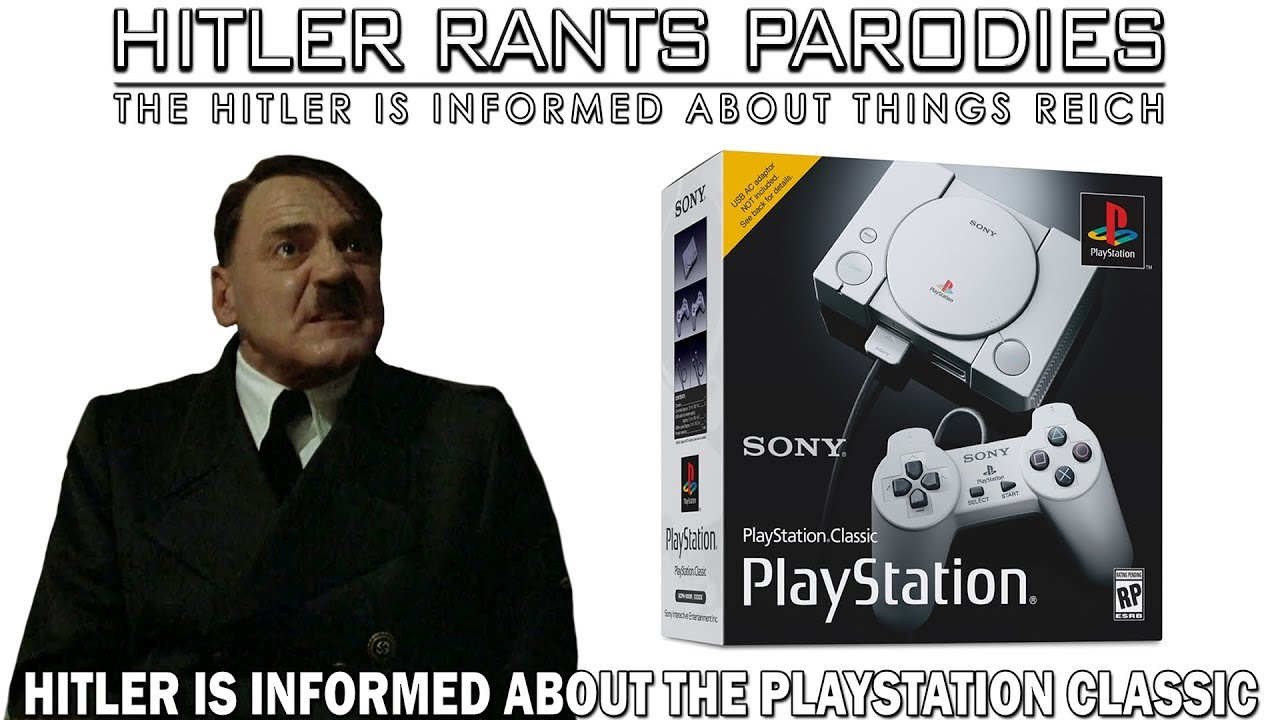 Hitler is informed about the PlayStation Classic