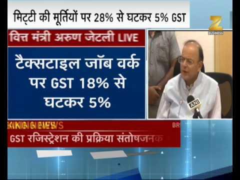 Watch : FM Arun Jaitley addresses media after 19th GST Council meeting