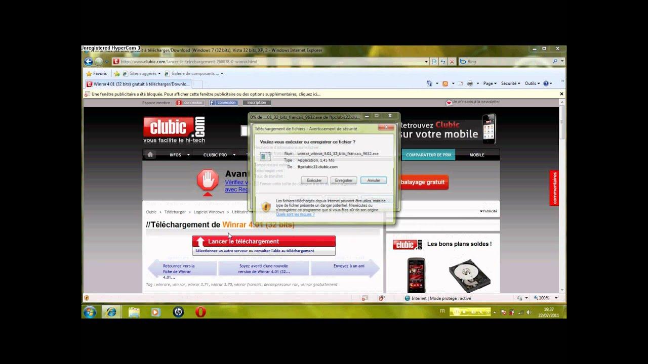 TÉLÉCHARGER WINRAR 2011 GRATUIT CLUBIC
