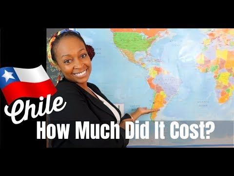 My Chile Vacation: How Much Did It Cost???