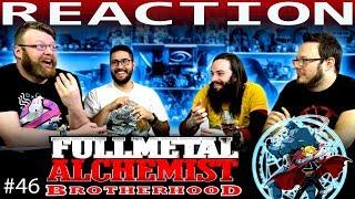 "Fullmetal Alchemist: Brotherhood Episode 46 REACTION!! ""Looming Shadows"""