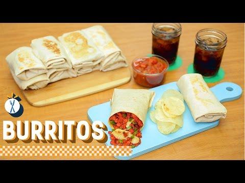 ¿Cómo preparar Burritos de Choriqueso? - Cocina Fresca