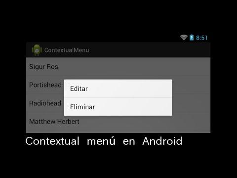 Contextual ActionBar in Android - Codesfor