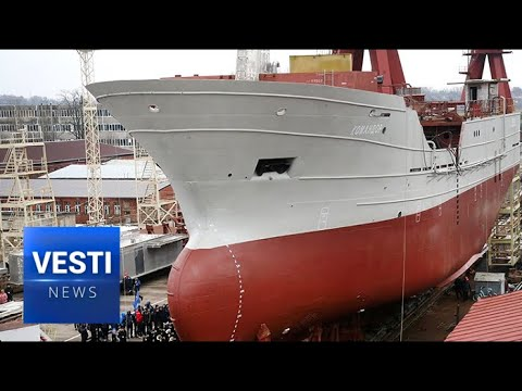 Meet the Komandor: Kaliningrad Shipyards Create New High Class Commercial Fisher Bound for Kamchatka