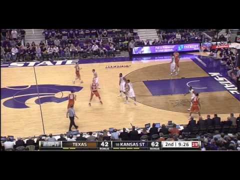 2013 K-State vs Texas Basketball-2nd Half