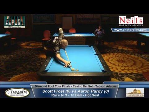 Diamond Pool Tour Finale - Scott Frost vs Aaron Purdy