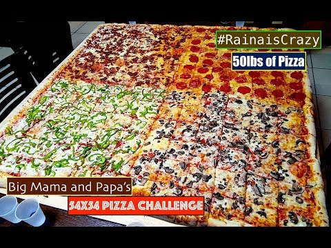 Big Mama and Papa's 54x54 Pizza   Northridge, CA   RainaisCrazy