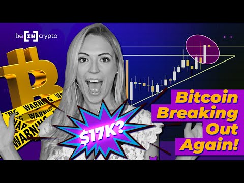 Bitcoin $17K Breakout!? Will BTC OVERTAKE Gold, Or Will We See A Dump? - BeInCrypto News #2