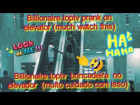 Billionaire.toptv prank on elevator (you much watch this)🤣