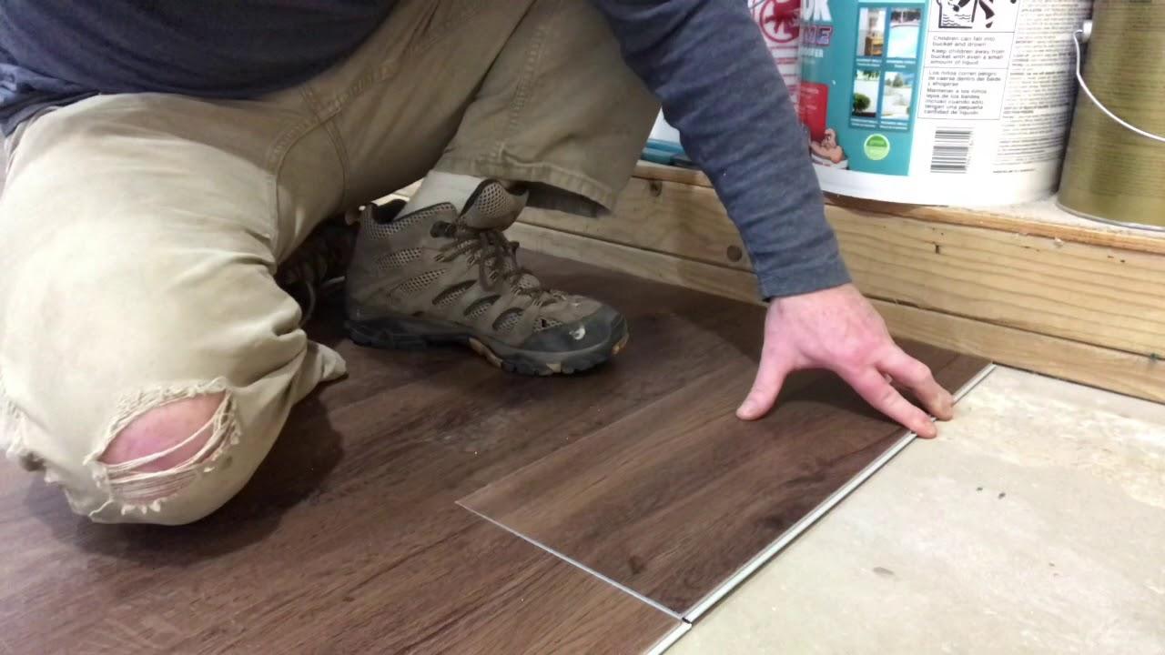Lifeproof Flooring Installation Youtube