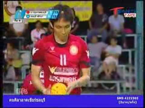 BTU - Chonburi-Pattaya Takraw Thailand League 2013