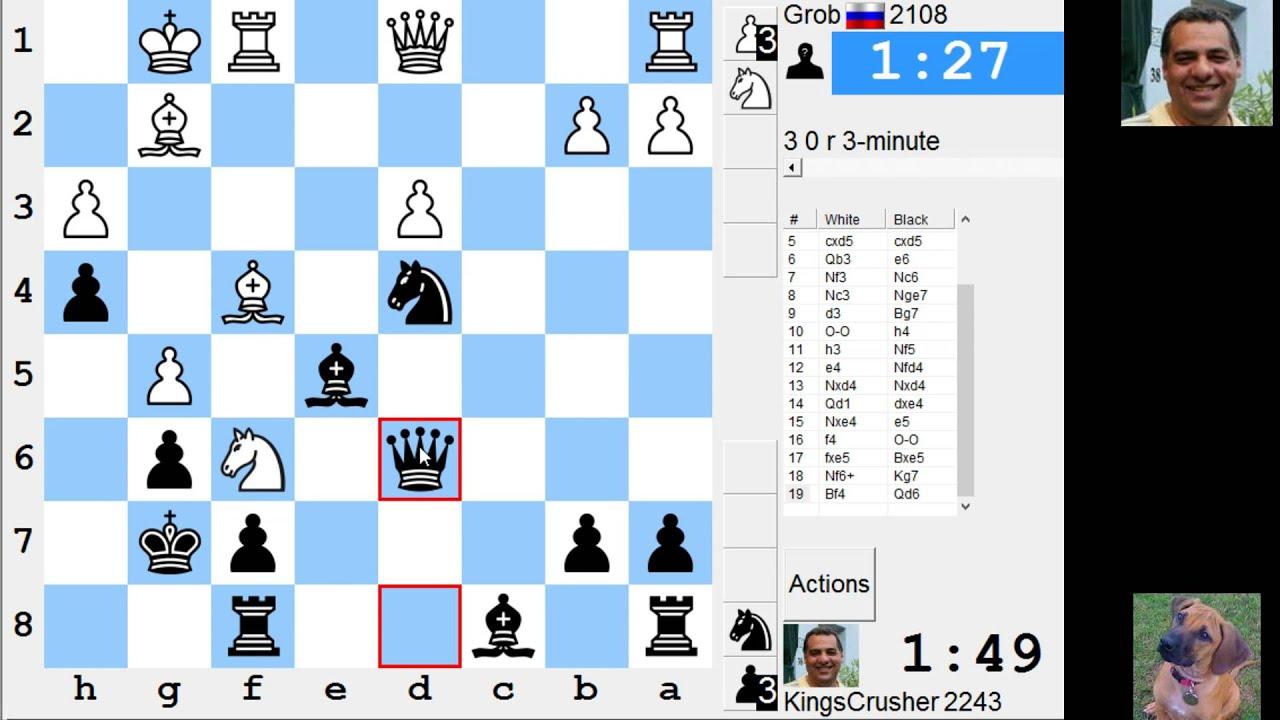 LIVE Blitz #3131 (Speed) Chess Game: Black vs Grob in Grob: spike ...