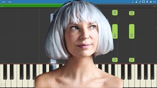 How to play Angel By The Wings - Sia - Piano Tutorial - Instrumental