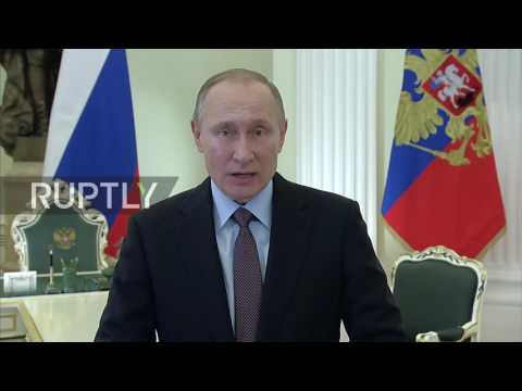 Russia: 'You deserve authority and respect' Putin thanks Emergency Ministry