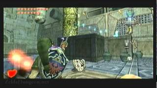 "Legend of Zelda Twilight Princess Walkthrough 19 (1/6) ""City In The Sky: Small Key"""