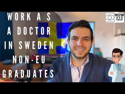 Work as a Doctor in Sweden: Part 1 For Non-EU Medical Gradutes