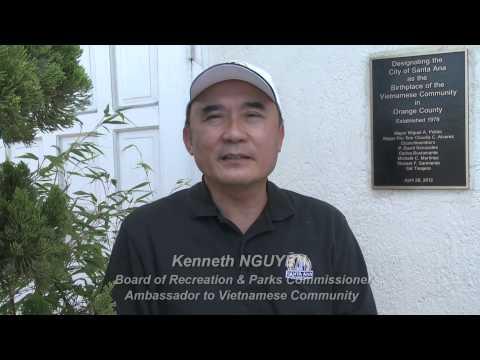 Kenneth Nguyen - Santa Ana Là Thành Phố Quan Trọng Bậc Nhất Của Little Saigon