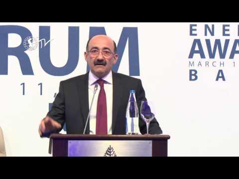 Əbülfəs Qarayev - Caspian Energy Forum - Baku 2015-az