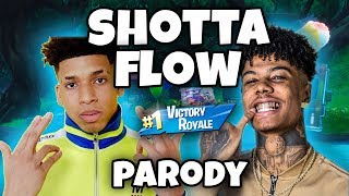 NLE Choppa - Shotta Flow Remix ft. Blueface (Fortnite Parody)