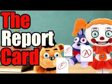 FNAF Plush - The Report Card