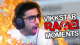 Reacting To The Best Vikkstar Rages