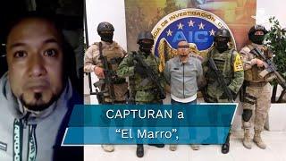 """La detención de José Antonio Yépez Ortiz, """"El Marro"""", presunto líder del cártel de Santa Rosa de Lima, tuvo lugar en Apaseo El Alto, en donde también fue liberada una empresaria que se encontraba secuestrada"""