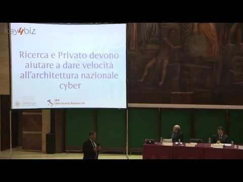 Un Framework Nazionale per la Cyber Security, intervento di Roberto Baldoni (Sapienza, CINI)