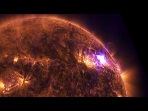 View of April 17 Solar Flare 4K - Ultra HD - NASA