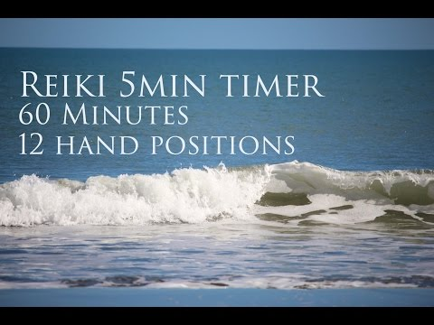 Reiki 5 Minute Timer with Sounds of the Sea ~ 60 Minutes